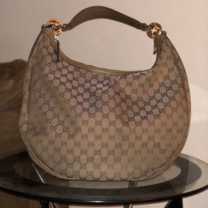 Gucci Twin GG hobo Handbag